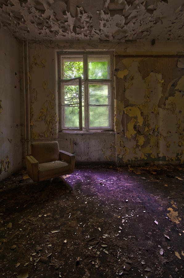 Abandoned Photograph - Sitting Alone by Nathan Wright