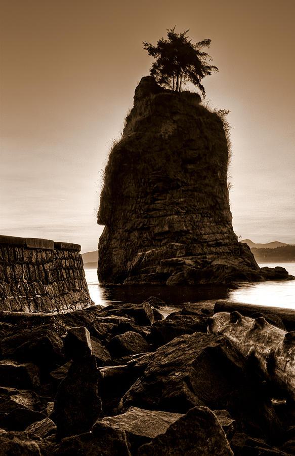 Siwash Rock Photograph - Siwash by Matt  Trimble