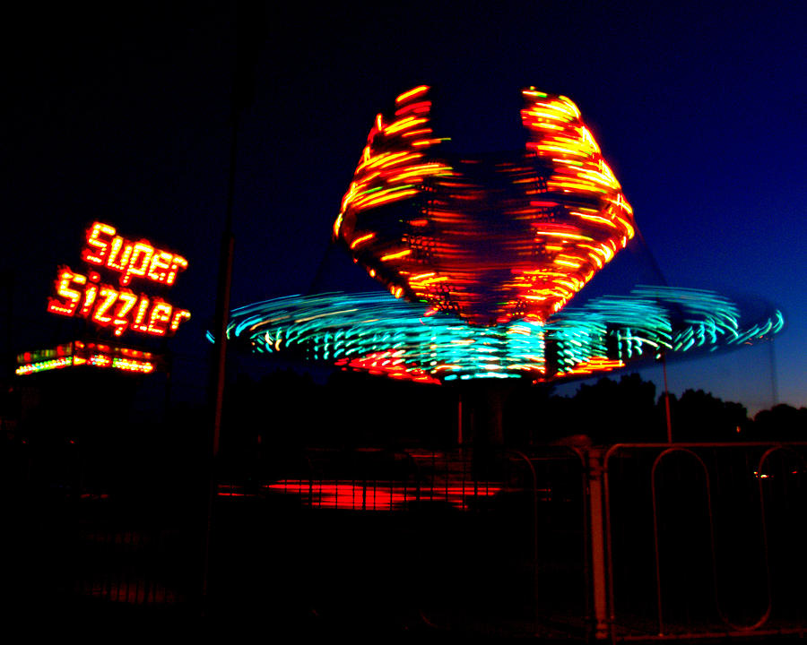 Light Photograph - Sizzler by Jessica Duede