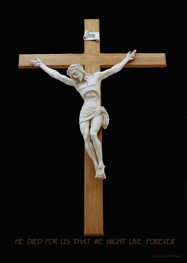 Jesus Photograph - Sjncc Crucifix 1 Two K Eleven by Carl Deaville
