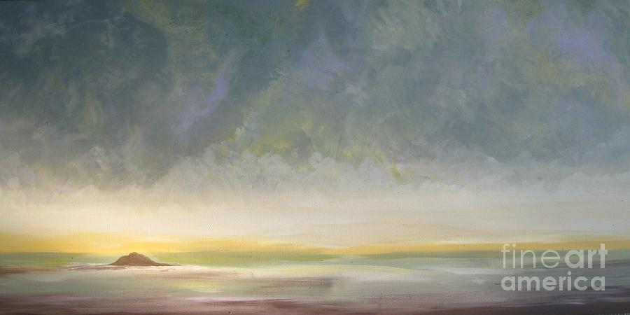 Skaket Beach Painting - Skaket - Waiting On The Storm by Jacqui Hawk