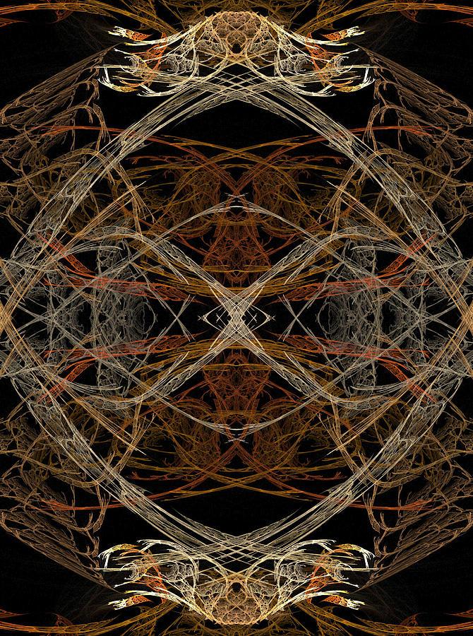 Fractals Digital Art - Skeleton 33 by Michele Caporaso