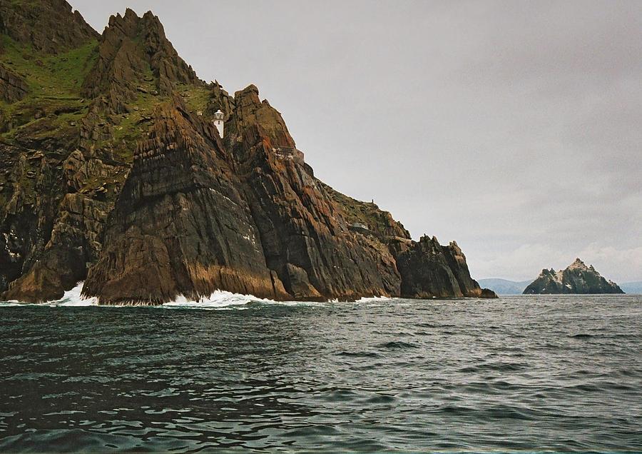 Rocks Photograph - Skelligs by Steve Watson