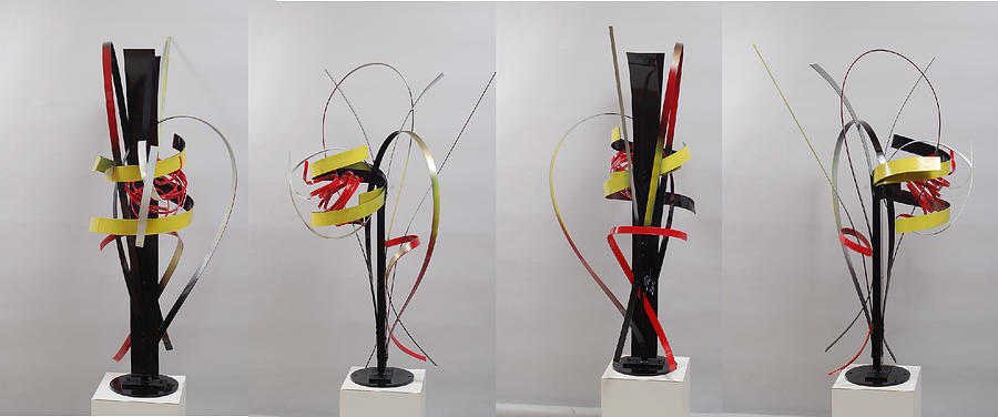 Abstract Sculpture - Skinny And Rich Formula 2 by Mac Worthington