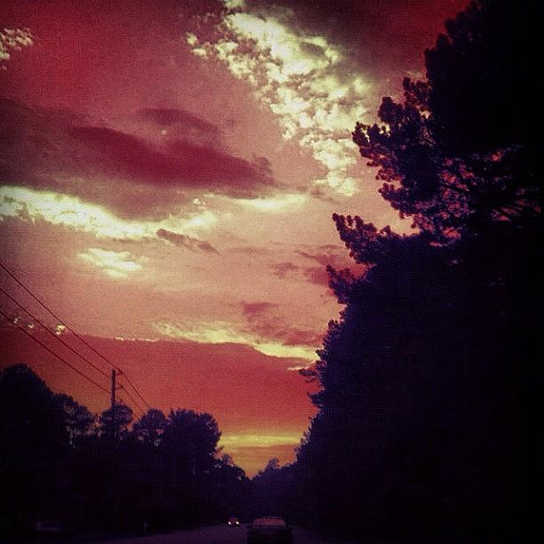 Summer Photograph - #sky 🌅 by Katie Williams
