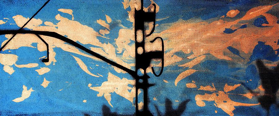 Serigraph Digital Art - Sky - Travel Serigraphic Art by Arte Venezia