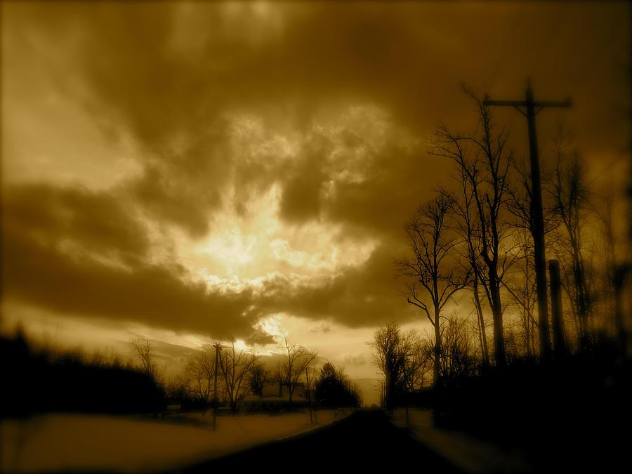 Landscape Photograph - Sky Ablaze by Arthur Barnes