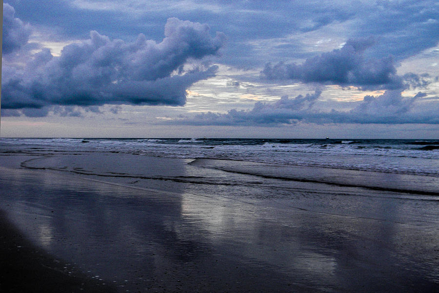 Beach Photograph - Sky And Shore by Christy Usilton