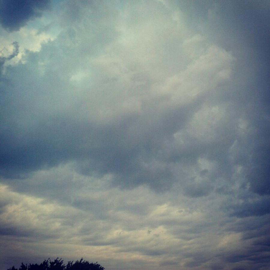 Andrography Photograph - #sky #clouds #nature #andrography by Kel Hill