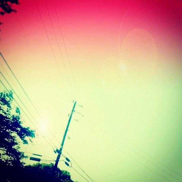 Pink Photograph - #sky #edit #cary #prettycolors #pink by Katie Williams