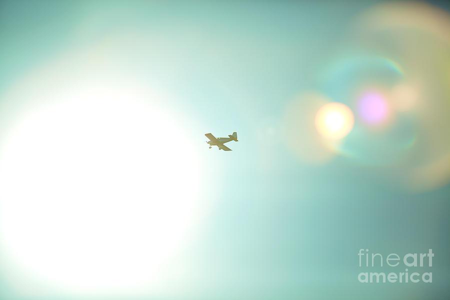 Airplane Photograph - Sky High by Kim Fearheiley