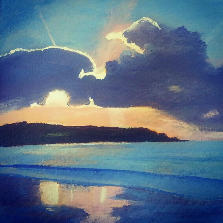 Landscape Painting - Sky by Kimi Arts
