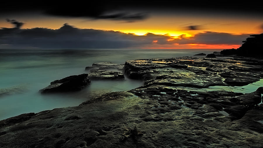 Sky Photograph - Sky Of Fire by Mark Lucey