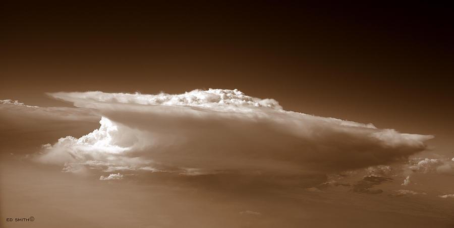 Sky Surfer Photograph - Sky Surfer by Ed Smith