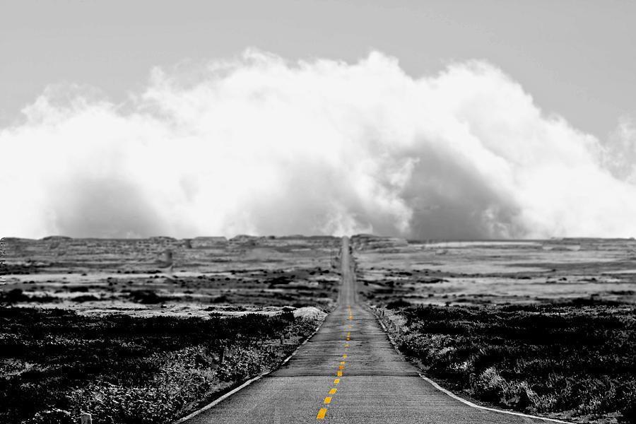 Street Photograph - Sky Way by Gabriel Calahorra