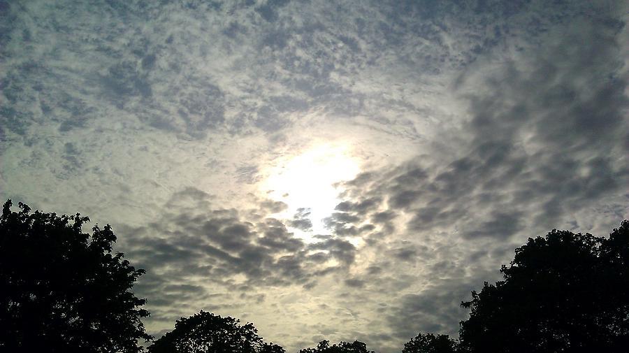 Sky Photograph - Sky Whirlpool by ClockWork Rockawn