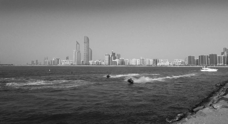 Skyline Photograph - Skyline Abudhabi by Farah Faizal