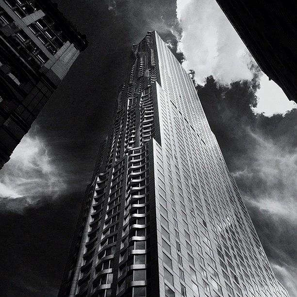 New York City Photograph - Skyscraper - New York City by Vivienne Gucwa