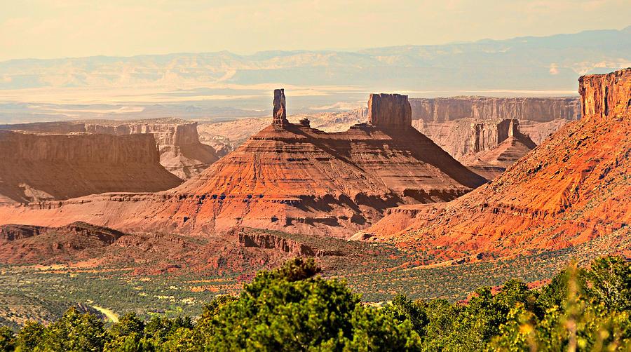 Castle Butte Photograph - Skyward by Marty Koch