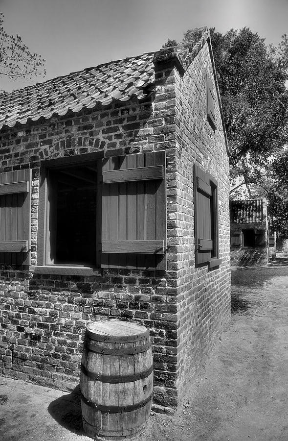 House Photograph - Slave Cabins by Steven Ainsworth