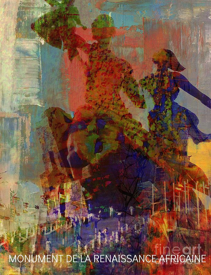 Fania Simon Mixed Media - Slave Trade - In The Memory Of People We Sold by Fania Simon