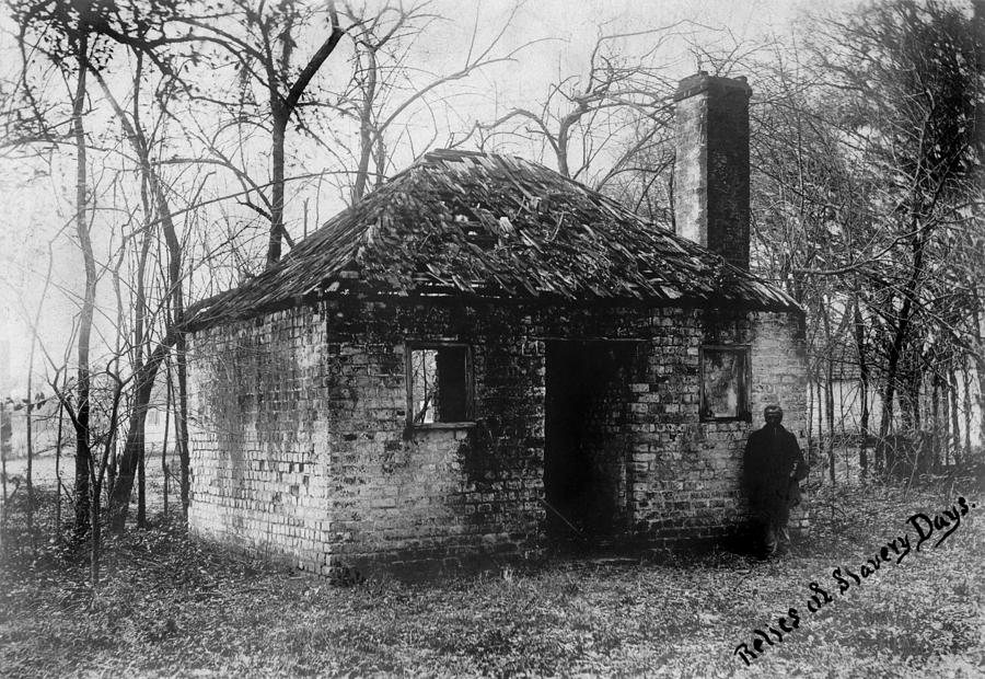 1900s Photograph - Slavery, Original Title Relics by Everett