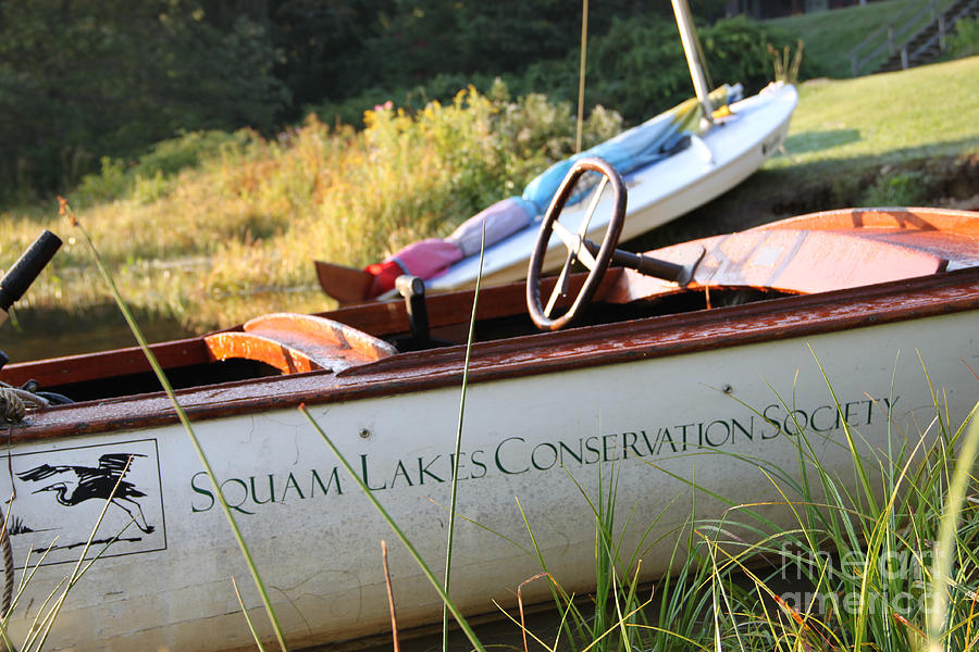 Squam Lake Photograph - Slcs Boat by Michael Mooney