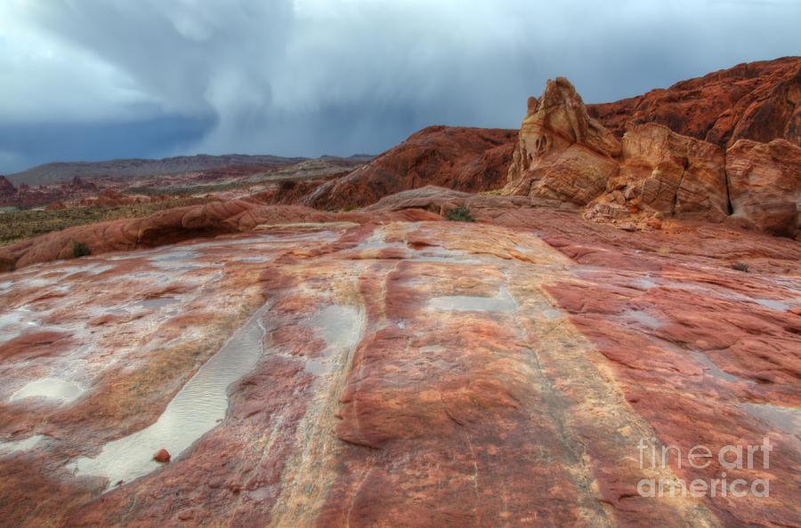 Sandstone Photograph - Slickrock by Bob Christopher