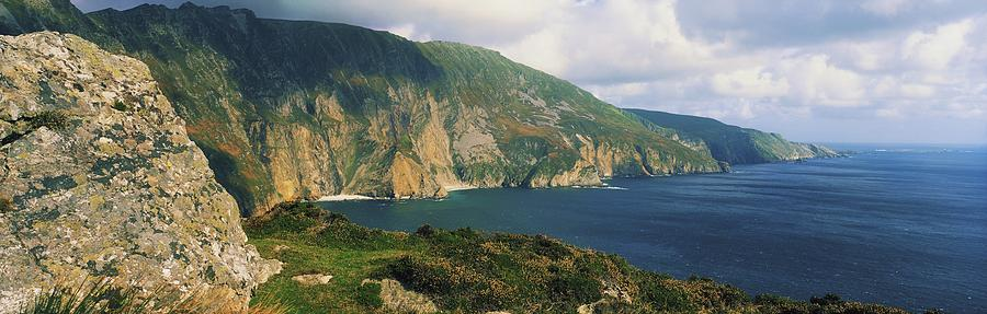 Cliff Photograph - Slieve League, Co Donegal, Ireland by The Irish Image Collection