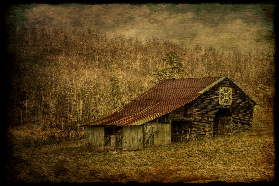 Barn Photograph - Slightly Out Of Kilter by Christine Annas