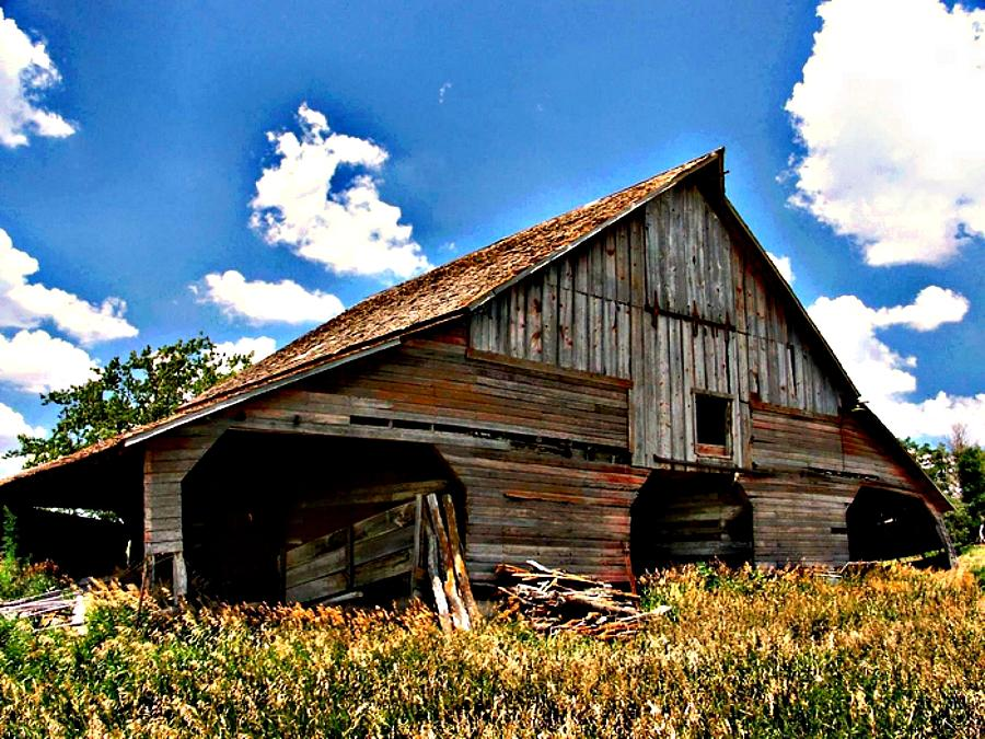 Barn Photograph - Slightly Used by Lynne and Don Wright