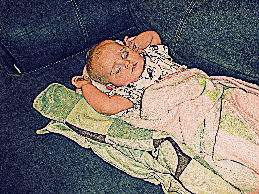 Baby Photograph - Slumberland by Camille Reichardt
