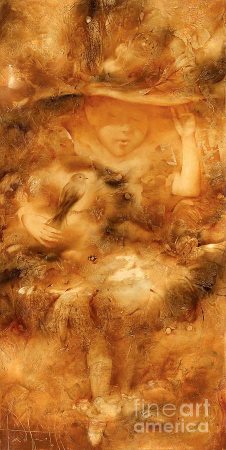 Small Fairy Painting by Svetlana and Sabir Gadzhievs