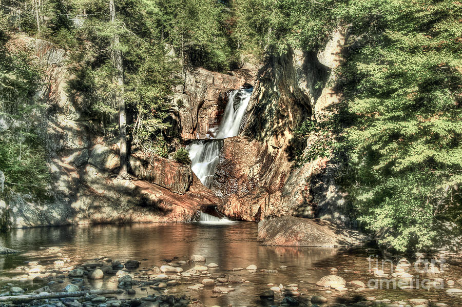 Maine Photograph - Small Falls by Brenda Giasson