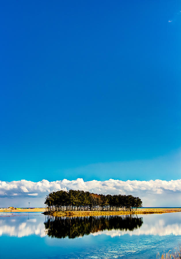 Vertical Photograph - Small Island by Tokism