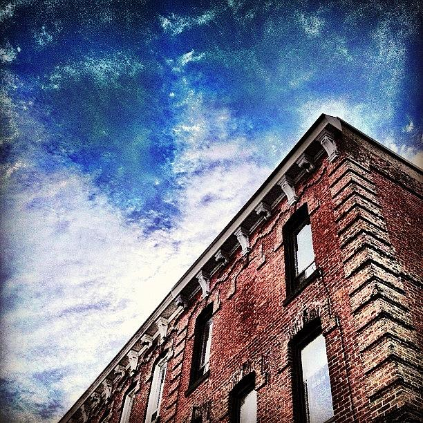 Cityscape Photograph - Small Town Buildings by Christopher Campbell