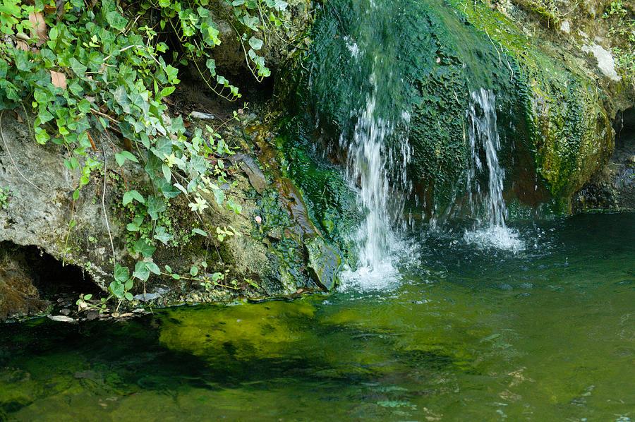 Waterfall Photograph - Small Waterfall by Joseph Shaffer