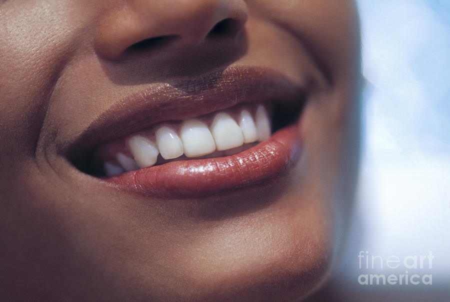 Adult Photograph - Smile by Juan Silva