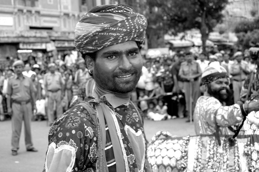 Festival Photograph - Smiling performer   by Karan Anand