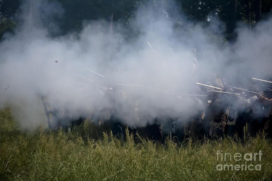 Smoke And Steel Mixed Media