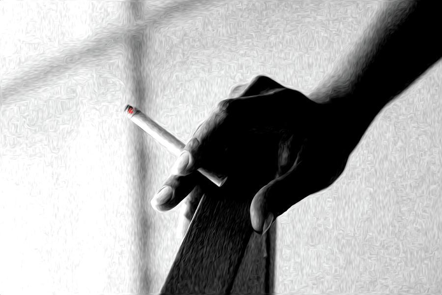 Cigarette Photograph - Smoke by Dax Ian