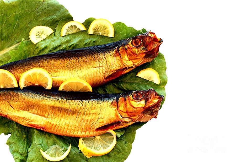 Aegean Pyrography - Smoked Fish by Soultana Koleska