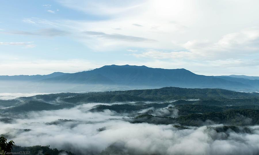 Mountains Photograph - Smoky Mountain Morning   by Glenn Lawrence