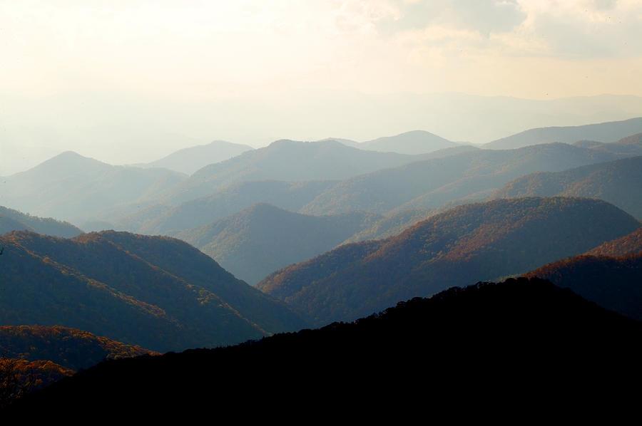 Great Smoky Mountains Photograph - Smoky Mountain Overlook Great Smoky Mountains by Rich Franco