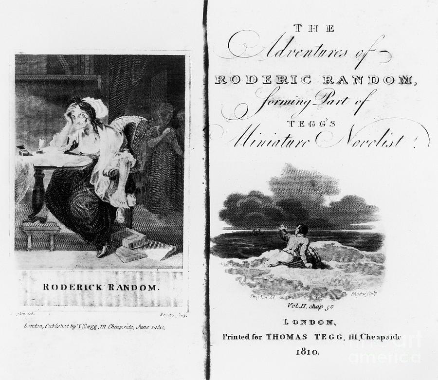 1810 Photograph - Smollett: Roderick Random by Granger