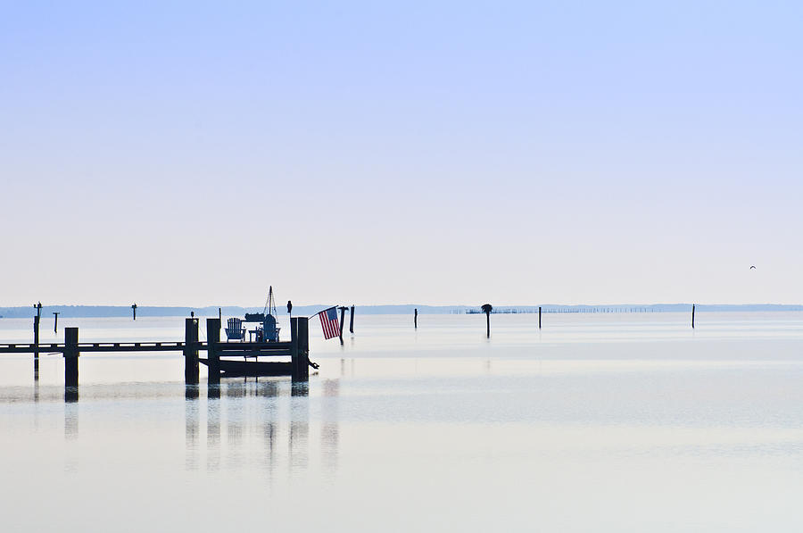 Chesapeake Photograph - Smooth As Glass by Bill Cannon