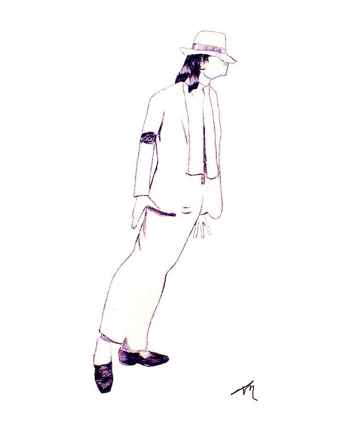 Michael Jackson Drawing - Smooth Criminal by Lee McCormick