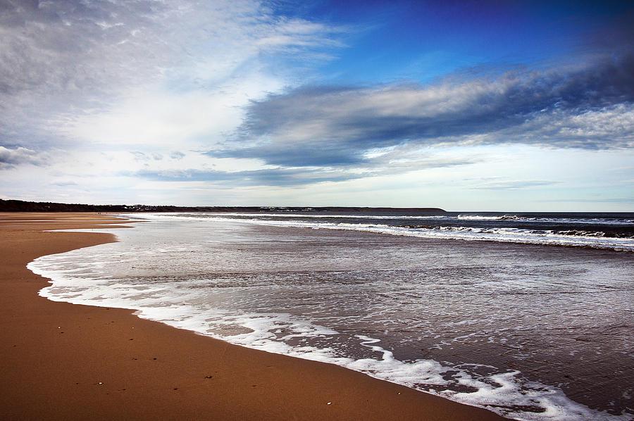 Bay Photograph - Smooth Wave by Svetlana Sewell