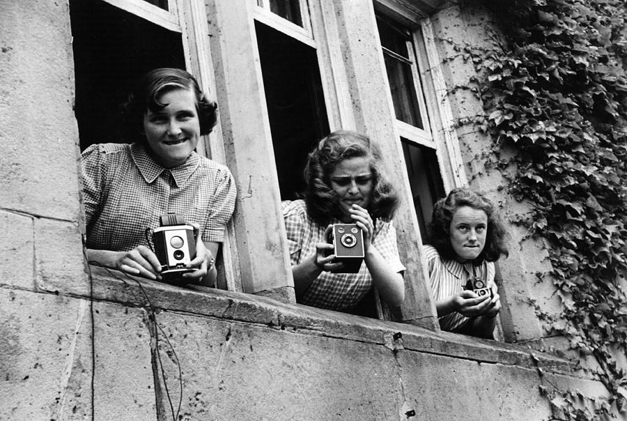 Teenager Photograph - Snapshot by Kurt Hutton