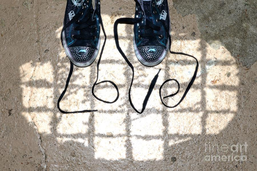 Sneaker Photograph - Sneaker Love 1 by Paul Ward